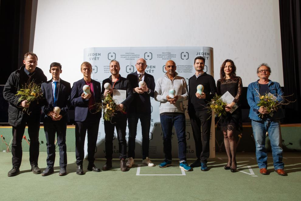 Autoři oceněných filmů na Jednom světě 2019 / Authors of the best films at the One World 2019
