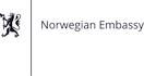 Velvyslanectví norského království v Praze logo/Norwegian Embassy inPrague logo