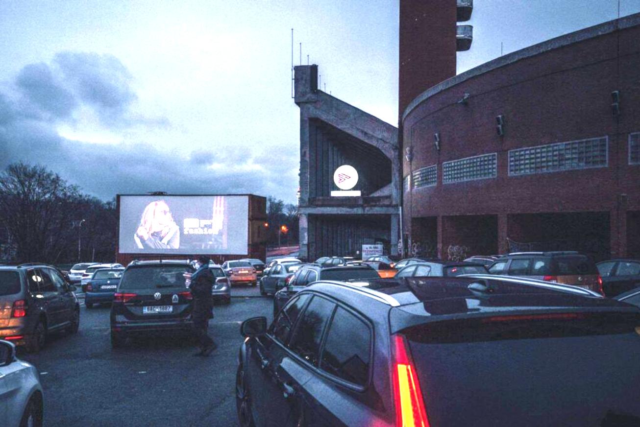 Autokino Strahov/Drive-in cinema Strahov
